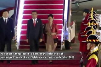 Jokowi tiba di Seoul untuk kunjungi Presiden Korsel