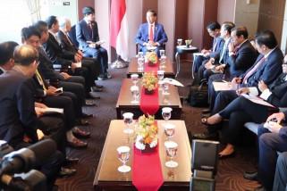 Presiden temui empat pemimpin perusahaan Korsel