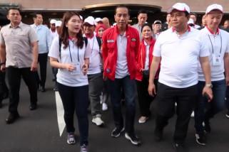 Presiden Susuri Jalanan Kota Seoul