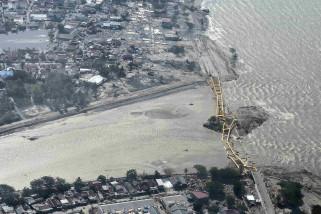 Pemerintah segera bangun fasilitas darurat pascagempa Donggala