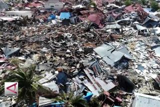 Kementan data lahan rusak di wilayah bencana