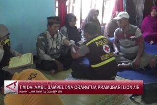 Tim DVI ambil sampel DNA orang tua pramugari Lion Air