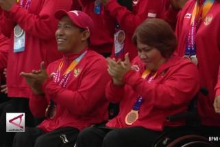 Presiden bagikan bonus untuk atlet Asian Para Games 2018