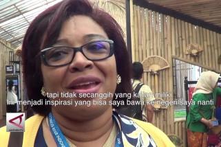 Pimpinan IMF kunjungi Pavilion Indonesia