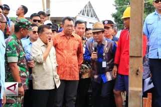 Wapres targetkan hunian NTB rampung Maret 2019