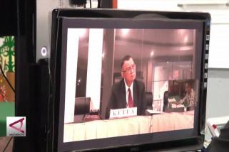 ketua  KPU Kapuas disidang Dkpp via teleconference