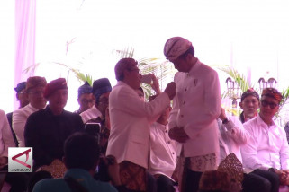 Presiden dianugerahi gelar Pinisepuh oleh Paguyuban Pasundan