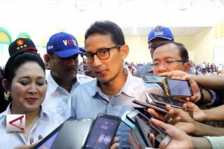 Sandiaga Uno berjanji buka lapangan kerja di Malut