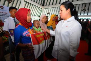 Puan dan Menhub kompak beberkan prestasi Jokowi-JK
