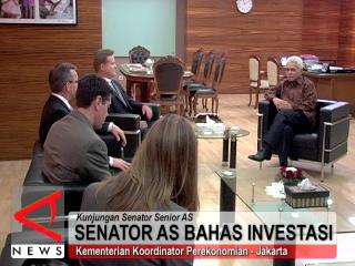 Senator AS Bahas Investasi