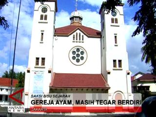 Gereja Ayam, Masih Tegar Berdiri