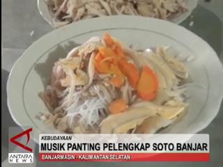 Musik  Panting Pelengkap Soto Banjar