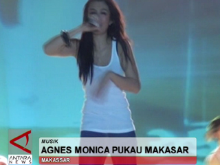 Agnes Monica Pukau Makassar