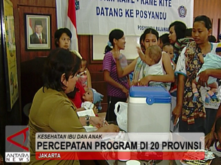 Percepatan Program Di 20 Provinsi