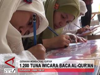 1.200 Tuna Wicara Membaca Al-Quran