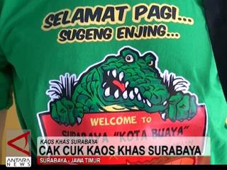 Cak Cuk kaos Khas Surabaya