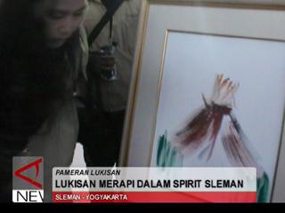 Lukisan Merapi Dalam Spirit Slemen