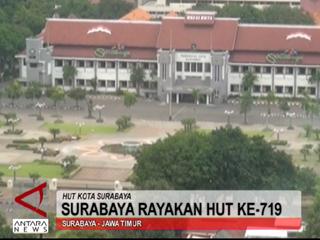 Surabaya Rayakan Hut KE-719
