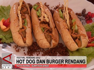 Hot Dog Dan Burger Rendang
