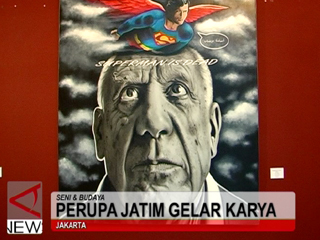 Perupa Jatim Gelar Karya di Jakarta