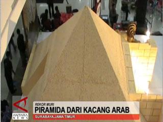 Piramida Dari Kacang Arab
