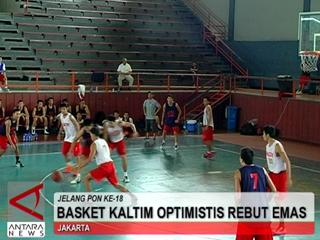 Basket Kaltim Optimistis Rebut Emas