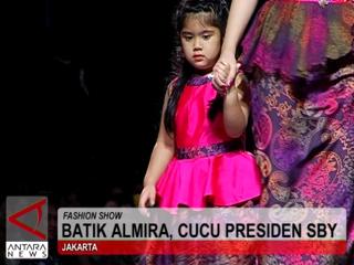 Batik Almira, Cucu Presiden SBY