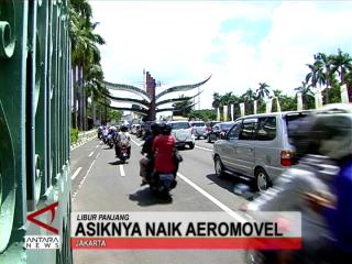 Asiknya Naik Aeromovel