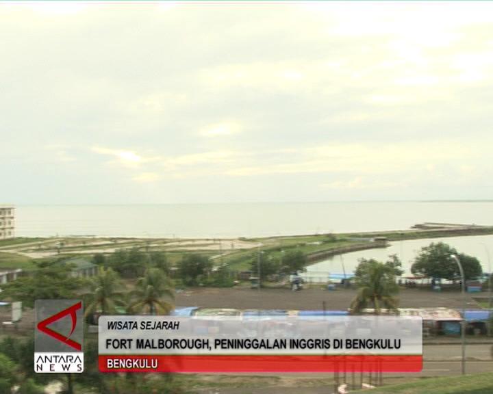 Fort Malborough, Peninggalan Inggris di Bengkulu