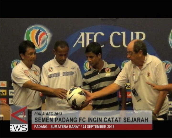 Semen Padang FC Ingin Catat Sejarah