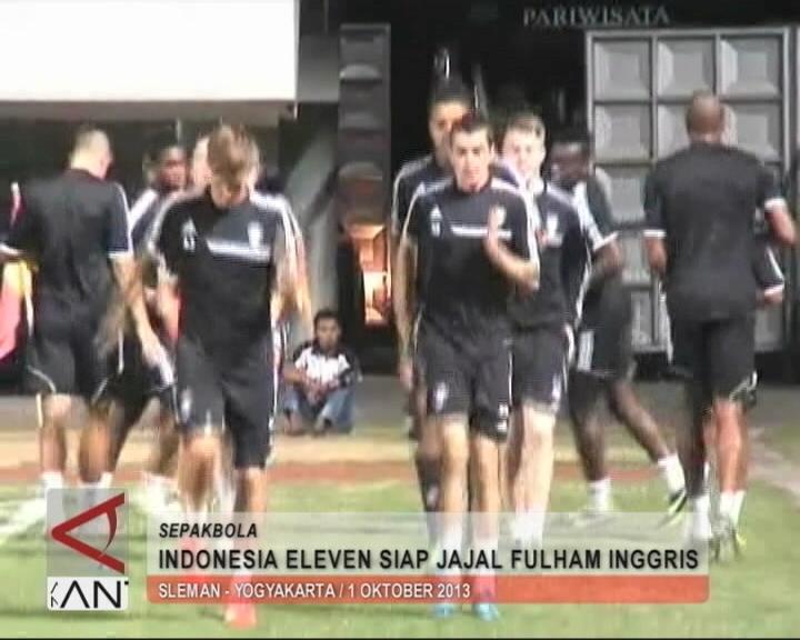 Indonesia Eleven Siap Jajal Fulham Inggris