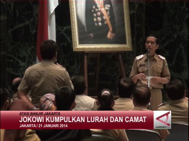 Jokowi Kumpulkan Lurah Dan Camat