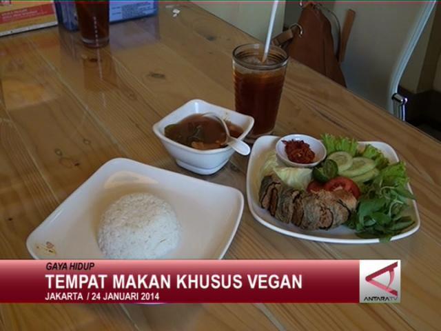 Tempat Makan Khusus Vegan