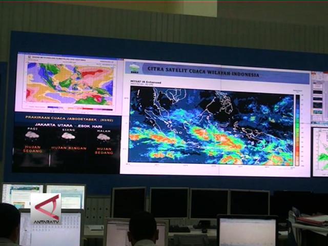 BMKG  Ramalkan  Jakarta Masih  Hujan Lebat