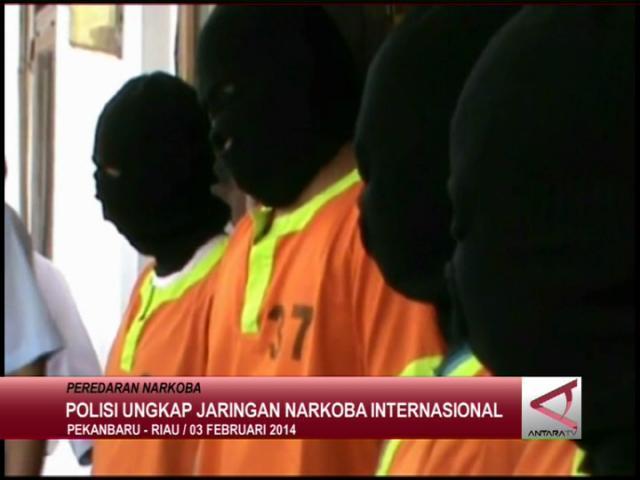 Polisi Ungkap Jaringan Narkoba Internasional