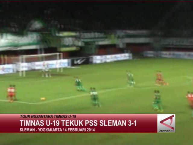 Timnas U-19 Tekuk PSS Sleman 3-1
