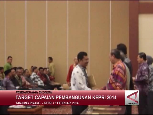Target  Capaian Pembangunan Kepri 2014
