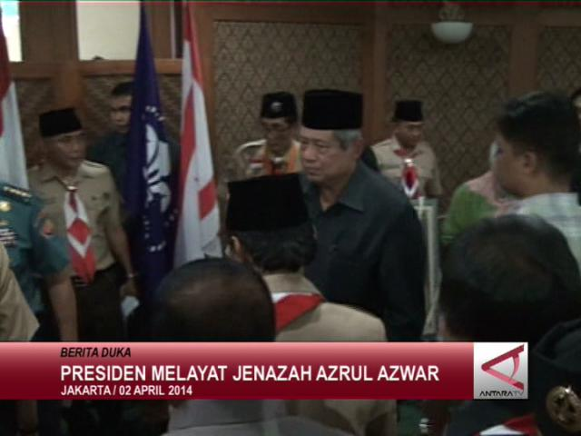 Presiden Melayat Jenazah Azrul Azwar