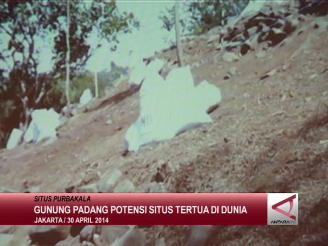 Gunung Padang Potensi Situs Tertua di Dunia
