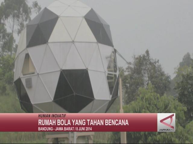 Rumah Bola yang Tahan Bencana