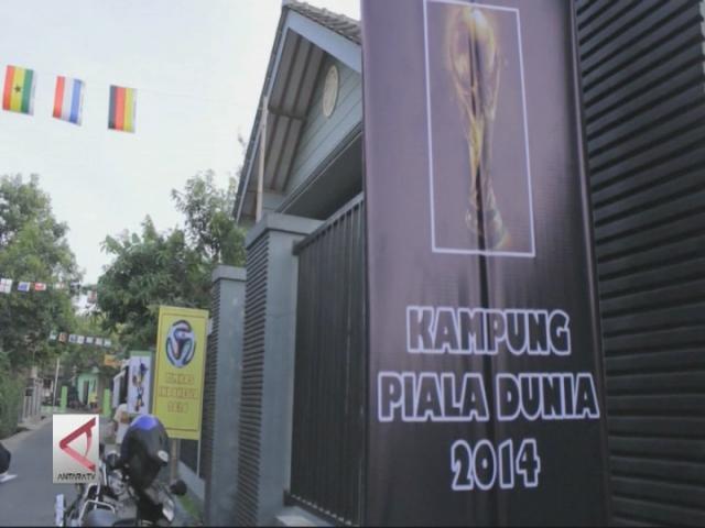 Kampung Bola Meriahkan Piala Dunia