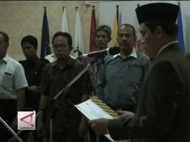 Komisioner PAW KPU Batam Dilantik