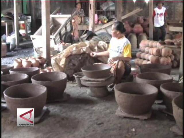 Gerabah Banten Dipasarkan Ke Kalimantan
