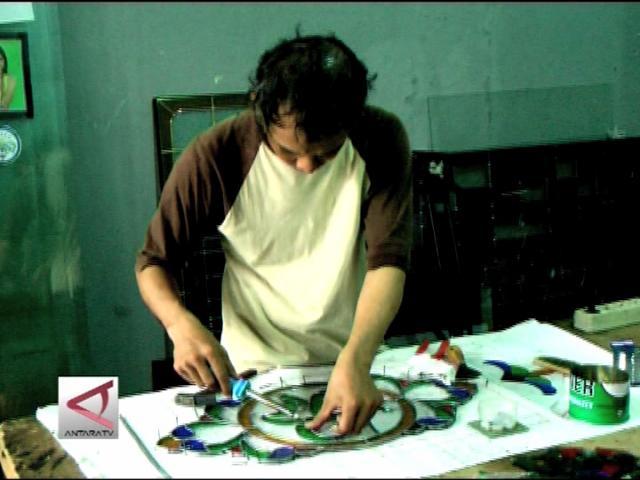 Proses Produksi Seni Kaca Patri