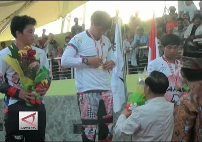 Jepang Sapu 5 Medali Di Balap BMX Di Riau