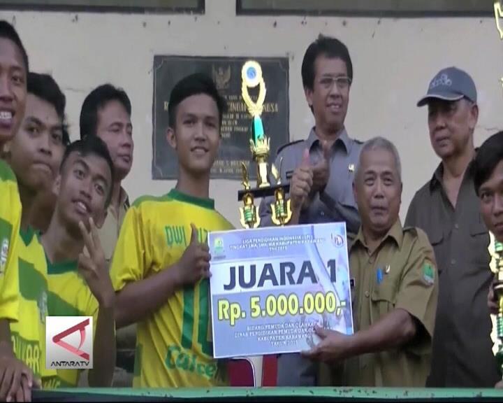 SMAN IV Karawang Jabar Juara 1 Sepak Bola LPI
