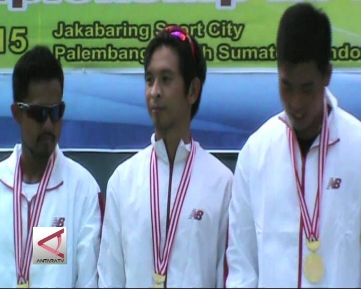 Indonesia Borong Medali Emas Tenis