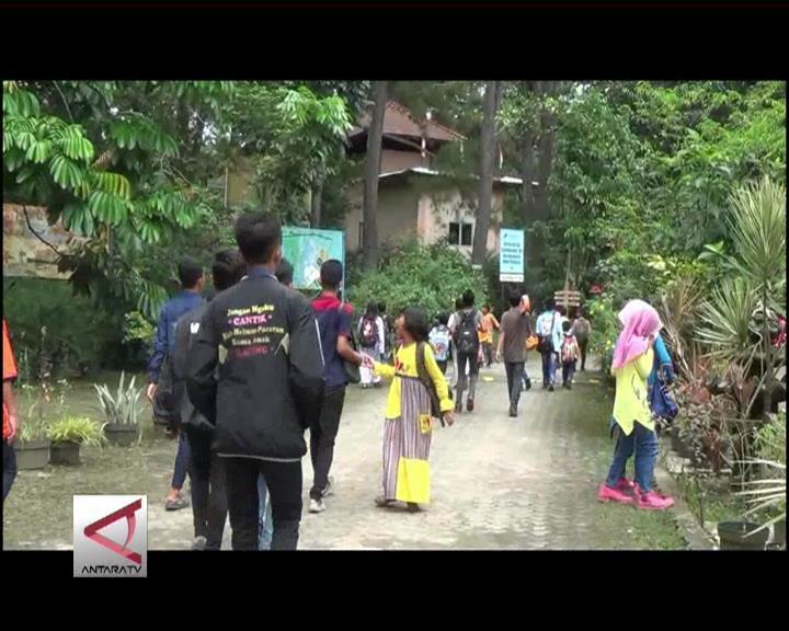 Hutan Wisata di Tengah Kota Palembang