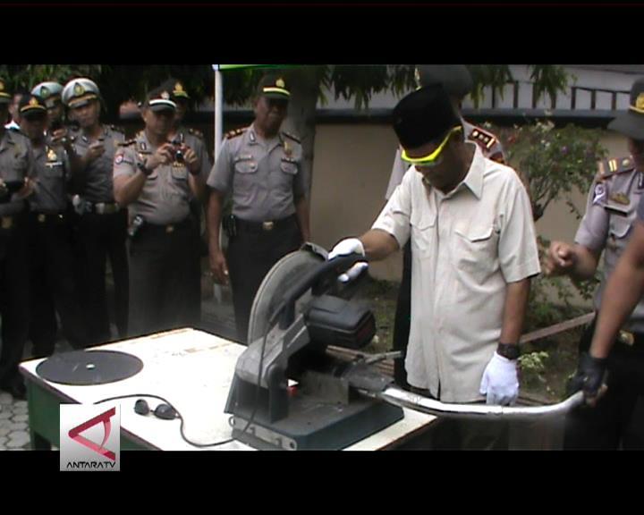 Polisi Razia Knalpot Bising