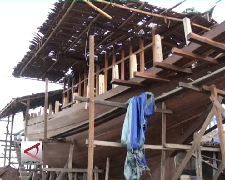 Dibuat Perahu Phinisi  Sebagai Warisan Budaya